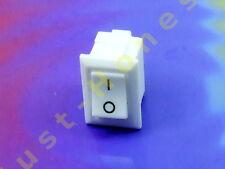 MINI Schalter / Switch 250V / 3A WEISS / WHITE Mini  #A271