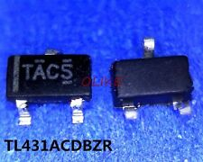 10 pcs New TL431ACDBZR TAC- TL431 SOT23-3 ic chip