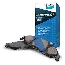 Bendix General CT Brake Pad Set Front DB15 GCT fits Volkswagen Beetle 1.2 (42...