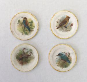 Dolls House Decorative 'Bird' Plates