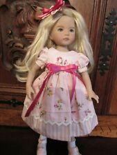 Robe rose 2 - Poupée Little darling Dianna Effner