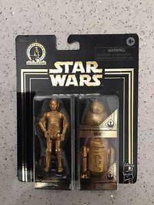 DISNEY STAR WARS GOLD C-3PO R2-D2 BB-8 Commemorative Edition Skywalker Saga 2019