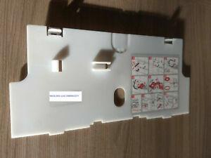 Rückwandplatte für ISOSAN LIV Nr. 1 + 2 , LIV , Dichtplatte für UP Spülkasten
