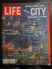 Life Magazine The US City Greatness is at Stake December 1965