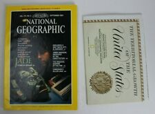 National Geographic Vol.172 No. 3 September 1987 Jade Stone Of Heaven