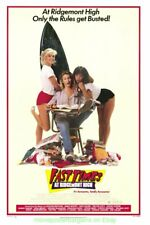 FAST TIMES AT RIDGEMONT HIGH MOVIE POSTER Original 27x41 Very Rare Rolled 1982