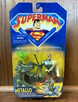 Metallo Vintage Superman The Animated Series Action Figure New 1998 Kenner DC