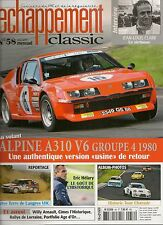 ECHAPPEMENT CLASSIC 58 ALPINE A310 V6 Gr4 268CH JEAN LOUIS CLARR WILLY ARNAULT