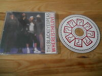 CD Pop Black Eyed Peas - Where Is The Love (2 Song) Promo A&M REC sc