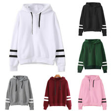 Womens Pullover Loose Ladies Hooded Sweatshirt Blouse Long Sleeve Hoodies Tops