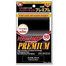 KMC Full Sized Premium Hyper Mat Black Card Sleeves MtG Magic Pokemon Yugioh