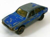 Vintage Majorette No 240 Simca 1308 Blue 1/60 Diecast France 1970s F435