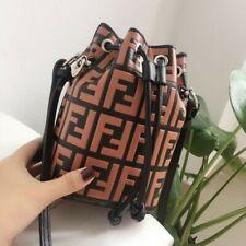 Womens Satchel Chain Handbags Drawstring Bucket Bags Crossbody Shoulder Purse