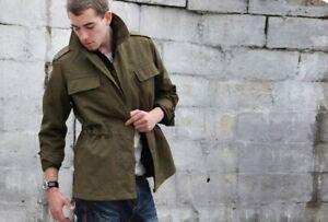 New Unissued Czech army communist Field jacket military coat soviet olive khaki