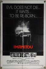 THE MANITOU FF ORIG 1SH MOVIE POSTER WILLIAM GIRDLER SUSAN STRASBERG (1978)