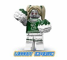 LEGO Minifigure Series 14 - Zombie Cheerleader - minifig col14-8 FREE POST