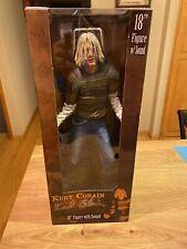 "Rare Kurt Cobain 18"" inch Action Figure Statue by NECA Nirvana - NIB"