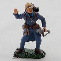 Figurine Collection Hachette 1ere Guerre Mondiale Poilu Verdun 1916 France