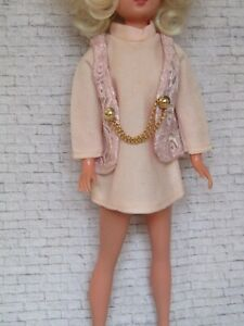 Sindy Doll Rare Discotheque Pink Outfit 1970 - Outfit Only