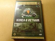 DVD / KOREA & VIETNAM (HISTORISCHE OORLOGEN 4)