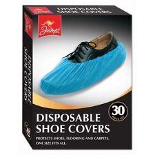 NUOVO Blu Elastico usa e getta in plastica scarpa Copertine tappeto pulizia Copriscarpe