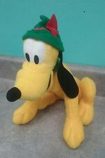 "Disney Pluto Plush Stuffed Animal 14"" Sega Redemption Prize"