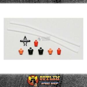 WILWOOD MASTER CYLINDER BLEEDING KIT WITH ADAPTORS & 2 TUBES - WIL26011593