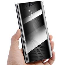 Samsung Galaxy S7 S8+ S9 Vista Inteligente Espejo Cartera de Cuero