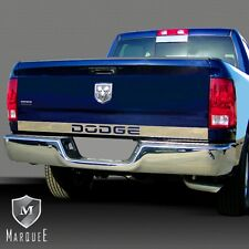 09-16 DODGE RAM 1500 2500 TAIL GATE MOLDING COVER DODGE NAME CUTOUT TRIM 2016