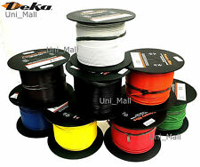 DEKA 16AWG 4 COLORS 25 FT Primary Wire 80 Deg C, UL SAE CSA Compliant, USA