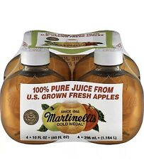 Martinelli's TIKTOK Gold Medal 100% Apple Juice 10 Fl. oz 1 Bottle FAST SHIPPING