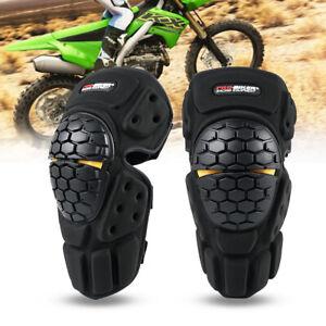 LSHGJ Motorcycle Motorcross Motorbike Racing Cycling Sports Bike Protective Gears Kneepads Knee Pads Sliders Protector Cover