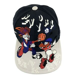 Vintage New York Yankees Looney Tunes Small Bill Hat - VTG Bugs Bunny NO RESERVE