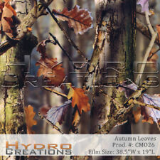 "HYDROGRAPHIC FILM HYDRO DIPPING WATER TRANSFER FILM Autumn Leaves - 38.5"" x 19"""