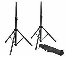 Gator ROK-IT Heavy Duty Speaker Stand Set with carry bag - RI-SPKRSTDSET