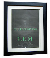 REM+Nightswimming+Automatic+POSTER+AD+RARE ORIGINAL 1993+FRAMED+FAST GLOBAL SHIP