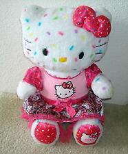 HELLO KITTY 2014 Build A Bear with dress 40th Anniversary limited edition rare