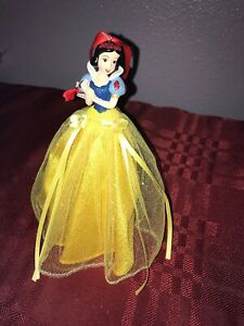 Disney Parks Princess Snow White Dress Sketchbook Ornament Tulle New