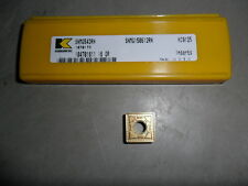 SNMG 543 RN SOLID CARBIDE INSERT BY KENNAMETAL GRADE KC9125 (BOX OF 5)