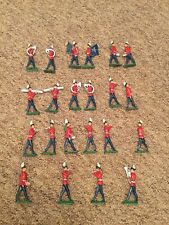 X22 Antique Old British lead soldiers Musical In A Band Highly Collectable