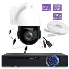 8CH 5MP NVR 20X Zoom Auto Tracking Full HD 1080P 2.0MP PTZ IP Camera SONY CMOS
