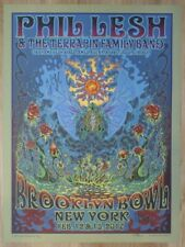 2017 Phil Lesh - Brooklyn Concert Poster by DuBois - Autographed by Phil & Band