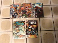 Mighty Thor 2000 Vol2 27 28 29 30 31 Marvel comic books Jurgens Larsen Janson A8