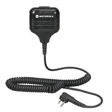 1 Motorola Hkln4606 Remote Speaker Microphone for Motorola Two Way Radios