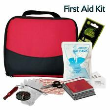 First Aid Kit All Purpose Emergency Trauma Outdoor Travel Bag Survival 152 Piece