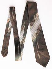 Apliques Efecto Vintage 1970s corbata por M&S Lavable A Máquina Rayas británicos hicieron