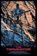 Terminator by Killian Eng - Rare Artist Proof signed & numbered - Mondo sold out