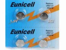 Eunicell  lot de 4 piles alcaline AG7 G7 LR927,395 1,55V