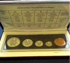 1908 - 1998 Canadian Commemorative Proof Finish Set in Box & COA