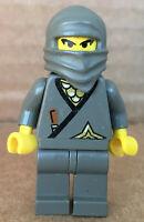 LEGO®-Minifigur Castle Ritter Ninja Gray Set 3019 6093 1187 4805 6089 - cas049